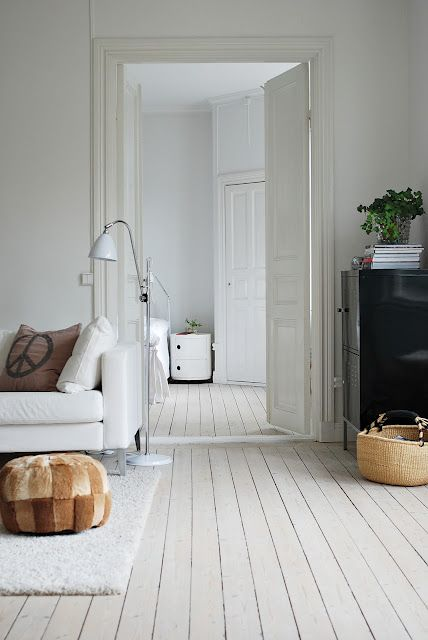 Minimalist Style Is One Of The Crowning Architectural Achievements Of The  20th Century. Minimalism Is. Painted FloorboardsWhite Painted Wood FloorsPainted  ...