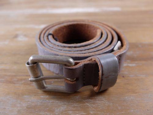 auth MARC JACOBS gray leather belt -Size XL (fits size 39 waist best) - NWOT