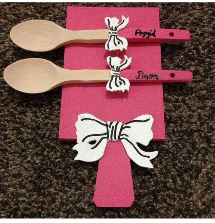 Kesme tahtası tahta kaşık modelleri