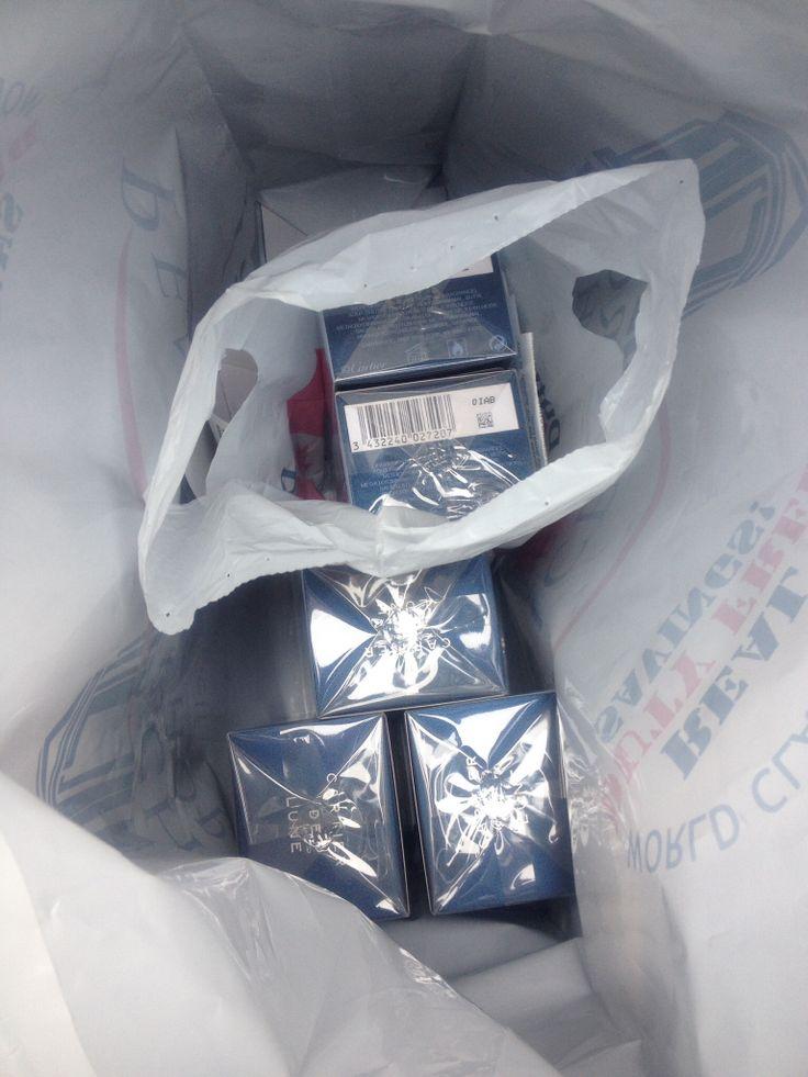 Bought me 5 bottles of 향수.  Good man!