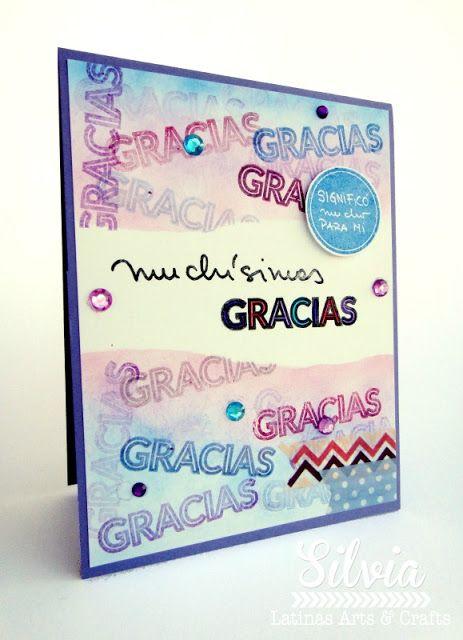 Silvia Scrap: Crop On Line. Dia Mundial de Hacer Tarjetas con Latinas Arts & Crafts