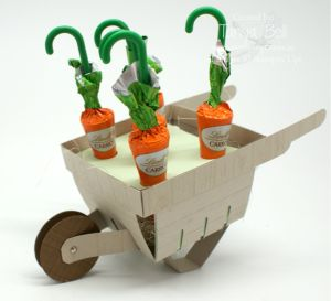 Stampin' Up! Stamping T! - Carrot Berry Basket Barrow