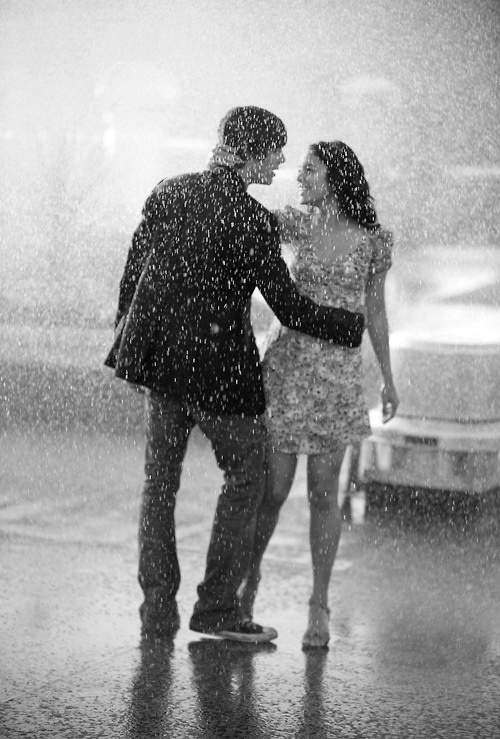 Romance and rain. They just go together.