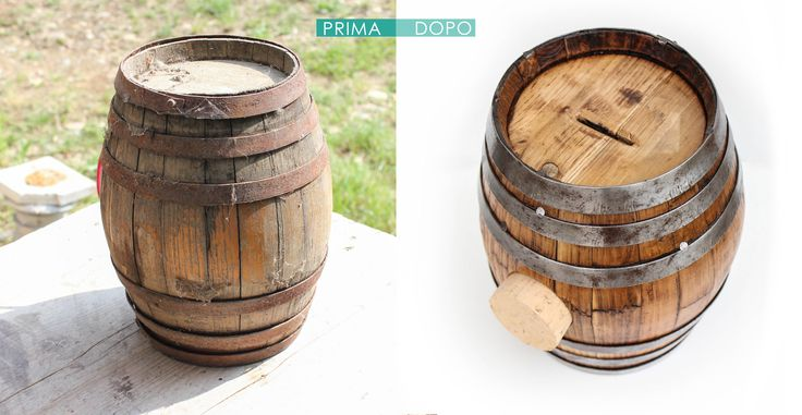 Before & After #barrel #design #restore #wine #madeinitaly #Torino