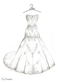 Best 25 wedding dress sketches ideas on pinterest dress for I give it a year wedding dress