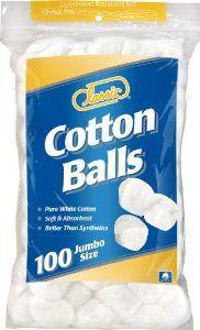 Classic Cotton Balls Jumbo Size, 100 Count