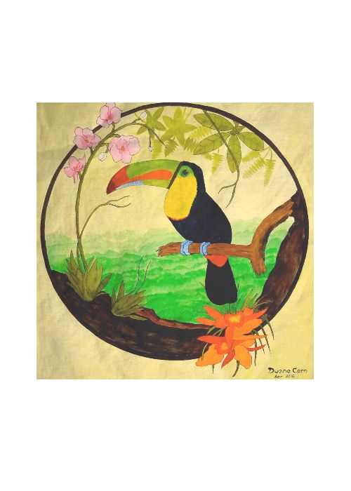 Foulard Carré De Soie - Butterfly4 Par Vida Vida jcC6X5F