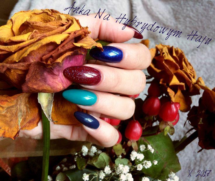 #paznokcie #manicure #hybrydy  #pazurki  #AnkaNaHybrydowymHaju #Nails #jesień #jesienne #autumn #autumnnails #jesiennepaznokcie #jesienneinspiracje