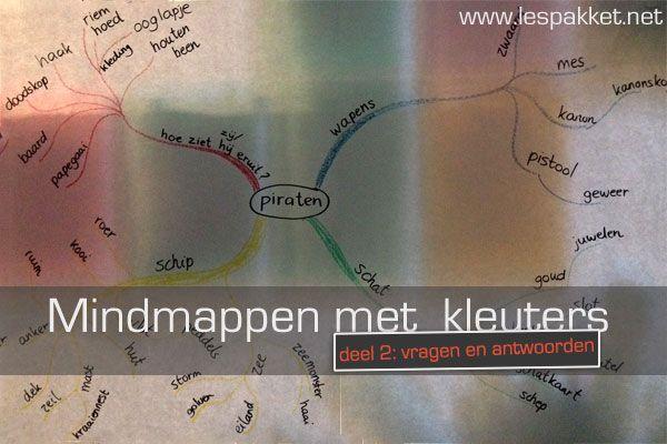 Mindmappen met kleuters: deel 2 - Lespakket - thema's, lesideeën en informatie - onderwijs aan kleuters