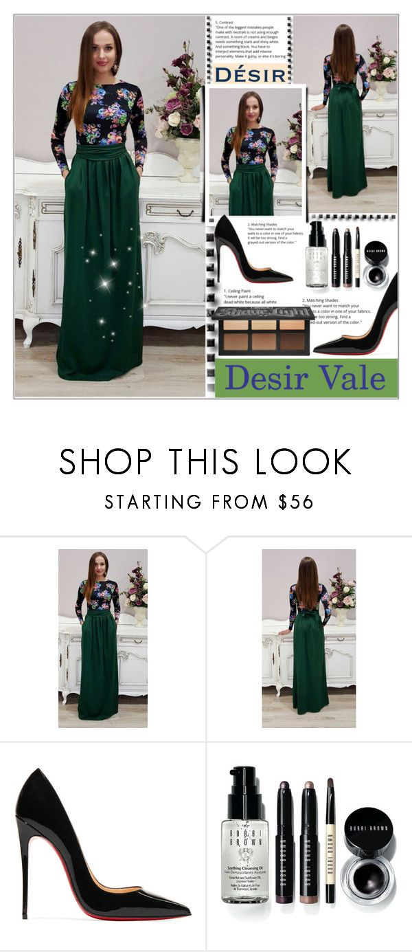 """""""Desir Vale 13"""" by majaa12 ❤ liked on Polyvore featuring Christian Louboutin and Bobbi Brown Cosmetics"""