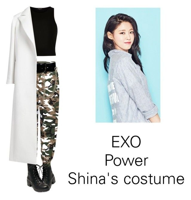 """Shina's costume for Power"" by pantsulord on Polyvore featuring River Island, Madden Girl, WearAll, Chanel, Dsquared2 and Oscar de la Renta"