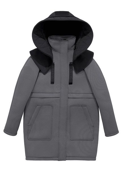 The ENTIRE Alexander Wang For H&M Collection — Right Here! #refinery29 http://www.refinery29.com/2014/10/76326/alexander-wang-hm-entire-collection-pictures#slide31 Alexander Wang for H&M Parka, $299, available on November 6 at H&M.