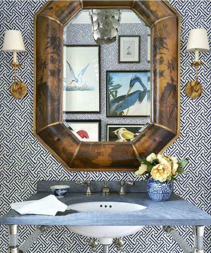 China Seas Java Grande wallpaper by Summer Thornton in House Beautiful