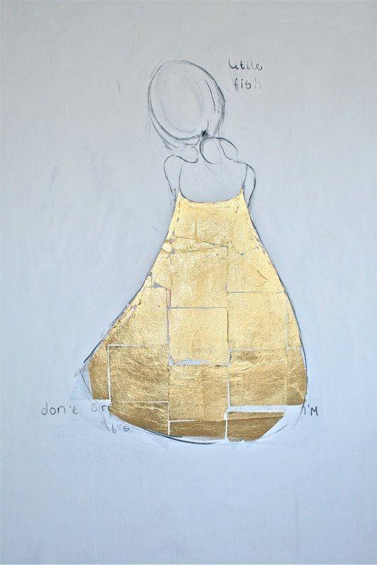 Ingrid van der Kamp - Golden Dress 2010