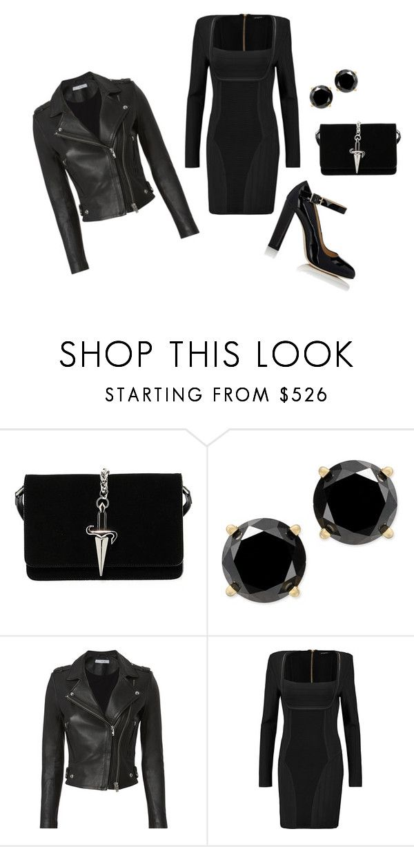 """""""Untitled #27"""" by dadulla on Polyvore featuring Cesare Paciotti, IRO, Balmain and Alexander White"""
