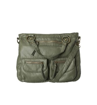 front pocket crossbody bag - in dark olive or black - from rickis.com #weekendstyle #casualstyle #rickis