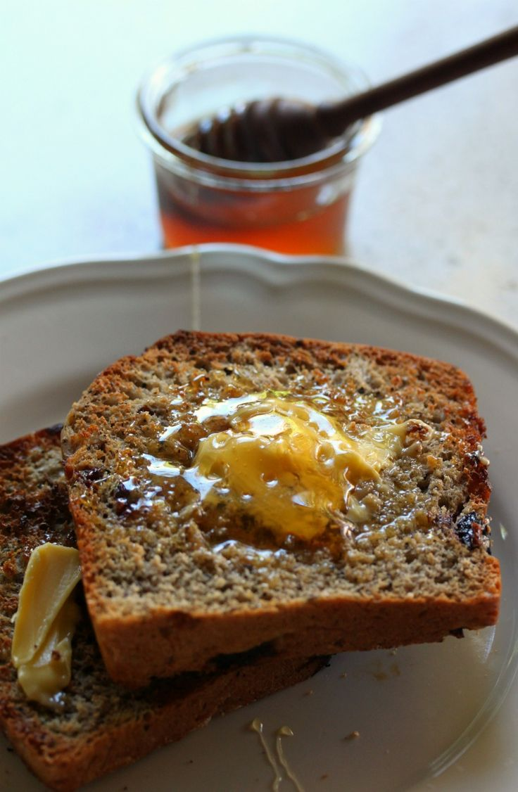Fruit and Crio Bru Bread (toasted)  #WhatsForBreakfast? ebook available at http://tenina.com/store