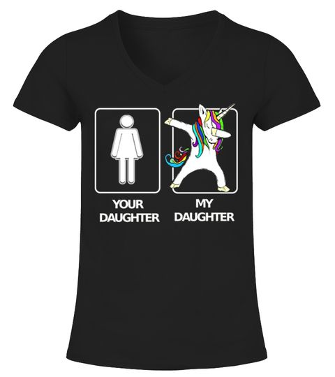 794424776a40 My Daughter Unicorn Birthday T-Shirt . Your Daughter My Daughter Unicorn  Shirt. Daughter Unicorn T-Shirt