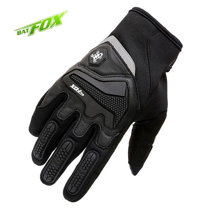 Batfox 2016冬フルフィンガーサイクリンググローブライクラバイク手袋mtb道路スポーツ手袋防風タッチスクリーン自転車手袋