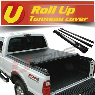 Details About Fits 2009 2014 Ford F 150 8ft 96 Bed Vinyl Lock Smooth Roll Up Tonneau Cover In 2020 Tonneau Cover Vinyl Rolls Cover