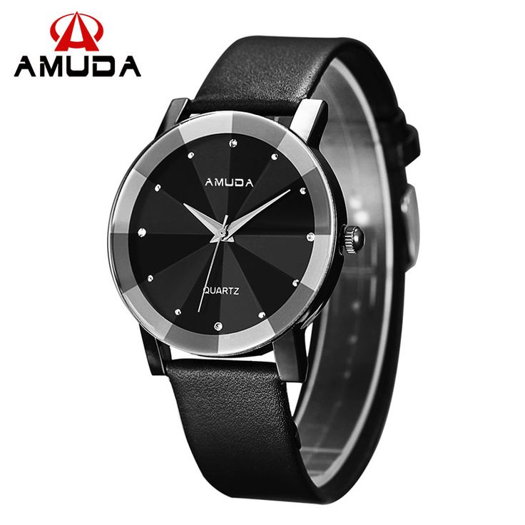 Elegant #AMUDA Hardlex #Crystal Genuine #Leather Quartz Analog Watch.  These #timepiece scream discernment and taste.  Beautiful and uncomplicated, with pure lines and high-end manufacturing quality.  Find Great #watches In All Styles At Great Prices. Shop #AMUDA Now