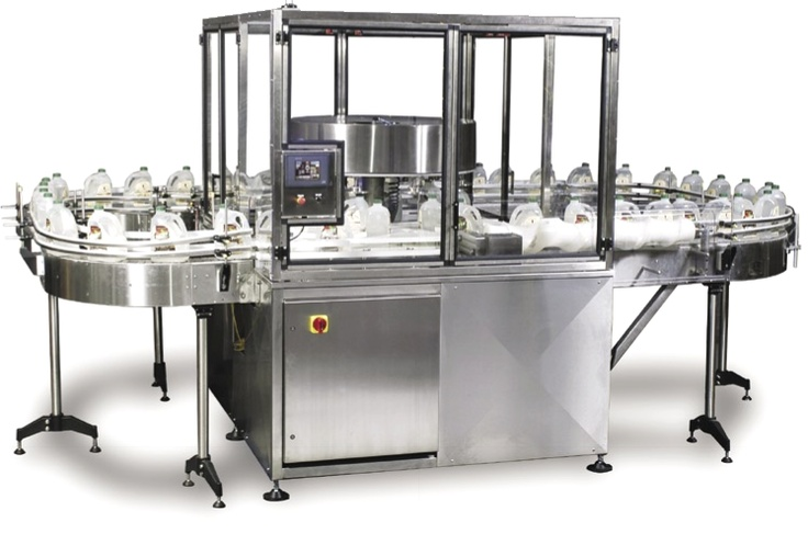 Rotary Bottle Orienter for high-speed bottle orienting at http://www.packaging-equipment-sales.com/Bottle-Orienter.html