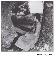Galería de fotos. En Simancas, ya archivera del Estado, 1923 #MariaMoliner