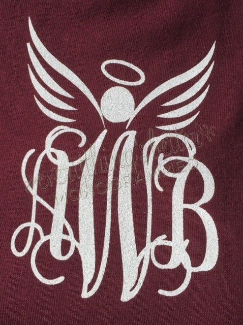 Angel Monogrammed Sweatshirt
