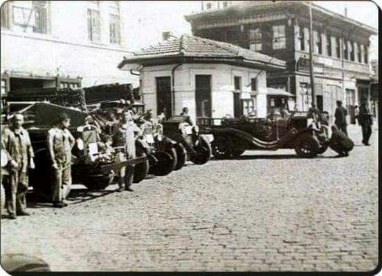 Üsküdar itfaiyesi 1930 lar