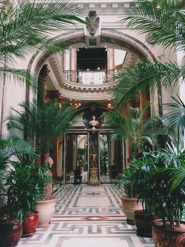 Musée Jacquemart-André in Paris - Un de mes musées préférés - photo by Hannah Wilson