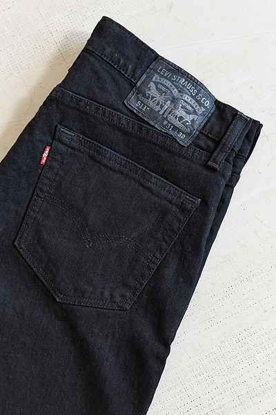 Levis 511 Black Stretch Slim-Fit Jean  Buy from anywhere though, JC penny is cheapest 36X34