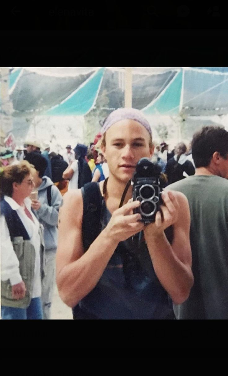 Heath at Burning Man