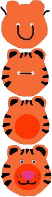 Tiger Neckerchief Slide Activity