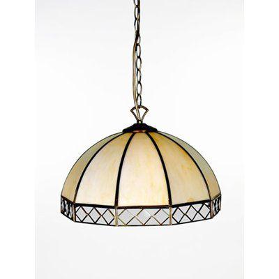 Tiffany 40Cm Beige Taklampa (Lampan.se)