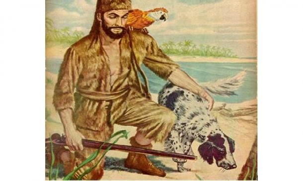 """Many people would be familiar with the novel """"Robinson Crusoe"""", a story written by the 17th/18th century English writer, Daniel Defoe. In the novel, the eponymous character is said to have"""