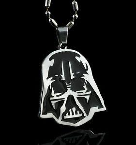 Star-Wars-Darth-Vader-Pendant-Chain-Metal-necklace-Fashion-Boy-Man-LZ04