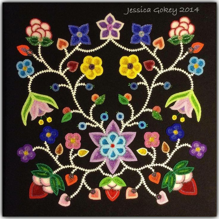 Facebook: Beading Traditions. Canadian Metis