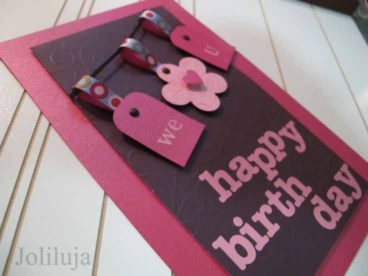 23 best images about Handmade birthday cards on Pinterest ...