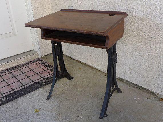 Vintage Heywood Wakefield Eclipse Student Desk - 63 Best Vintage Student Desks And Lamps Images On Pinterest