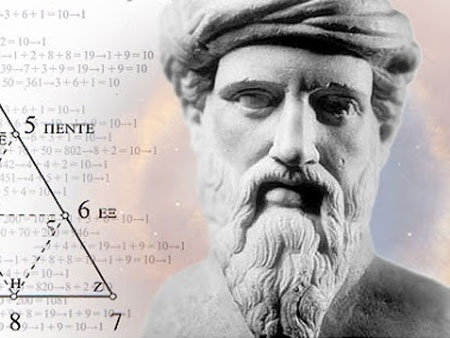 Pythagoras of Samos, c. 570 – c.495 BC,  Ionian #Greek philosopher, mathematician, and founder of the religious movement called Pythagoreanism. His ideas exercised a marked influence on Plato, and through him, on all of Western philosophy. The Pythagorean theorem in geometry states that in a right angle triangle the canon is α2+β2= c2. According to Pythagoras everything was related to mathematics and numbers were the ultimate reality. Musical notes could be translated into mathematical…