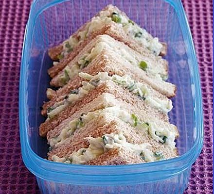 Fab sandwich fillers. These sandwich ideas are great for a school packed lunch and they're so tasty, you'll be taking them to work for your lunch, too