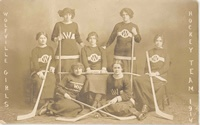 Wolfville Women's Hockey Team 1914