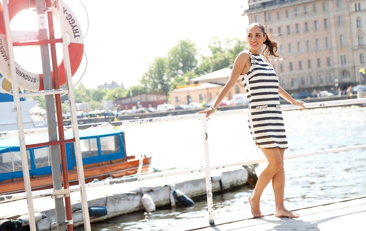 Style of the Week - Tintin Style, dress from by Malene Birger