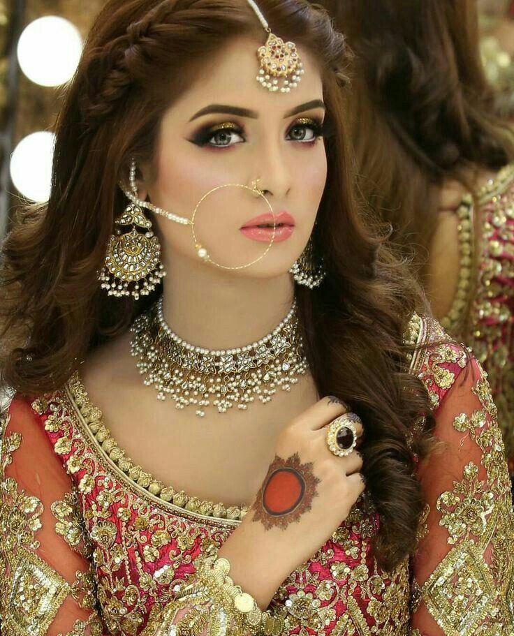 Wedding Hairstyle Pakistani: Pakistani Bridal Makeup, Best Bridal