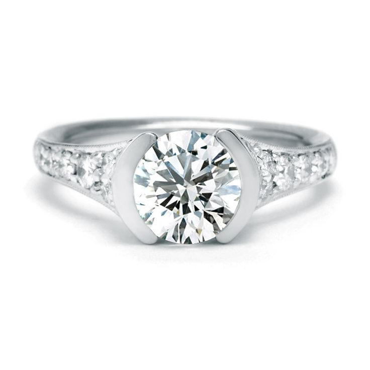 Sholdt Half Bezel Diamond Ring Setting
