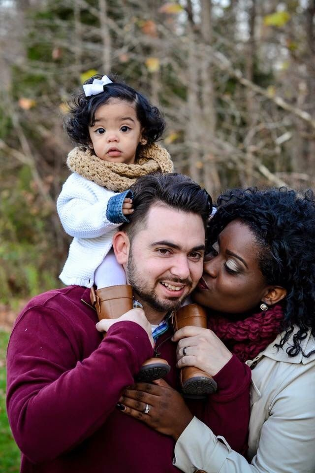 WhiteboysDatingBlackgirls - lizlegunsen:   What a beautiful looking family,...