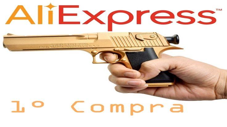 Primeira Compra AliExpress Unboxing Arma (Nerf Gun)