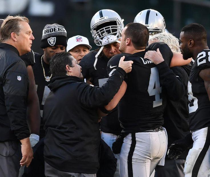 Raiders' Title Hopes Cruelly Evaporated After Devastating Derek Carr Injury | Bleacher Report