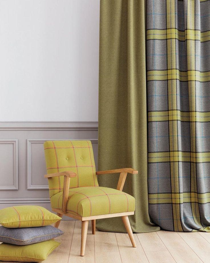 #шотландка снова в моде Обратите внимание на коллекцию Erzurum @persanhomestudio Заказать можно в #Galleria_Arben #persan #tartan #fabric
