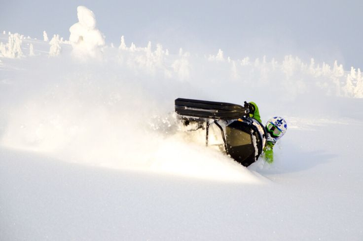 God goodergooodest beutiful dag in Sälen freeride snowmobile